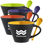 16oz Rancho Mugs With Spoon